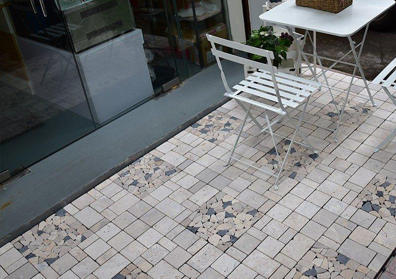Hot travertine deck tiles natural JIABANG Brand