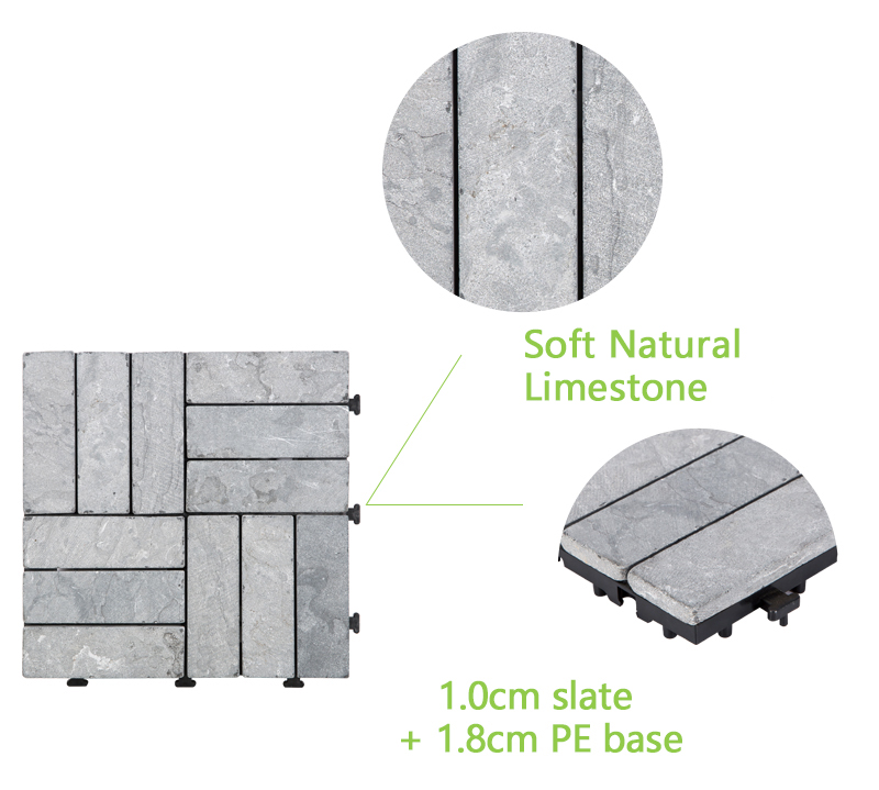 limestone travertine tile pool deck diy wholesale for garden decoration-4