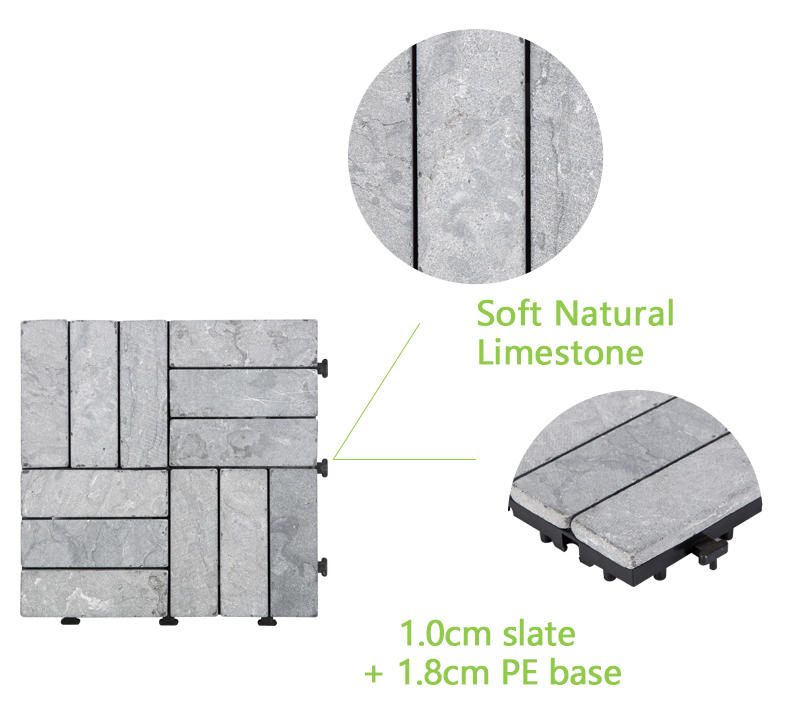 limestone travertine tile pool deck diy wholesale for garden decoration