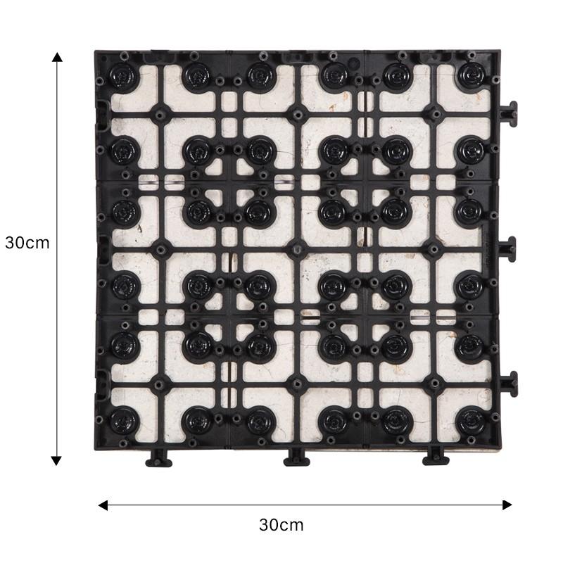 JIABANG interlocking travertine pool tiles at discount for garden decoration-2