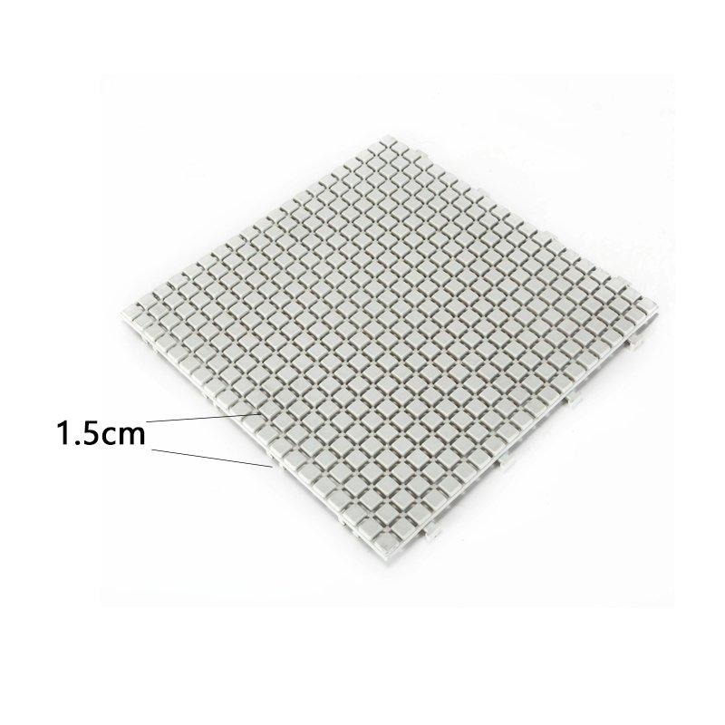 JIABANG decorative plastic garden tiles non-slip for customization