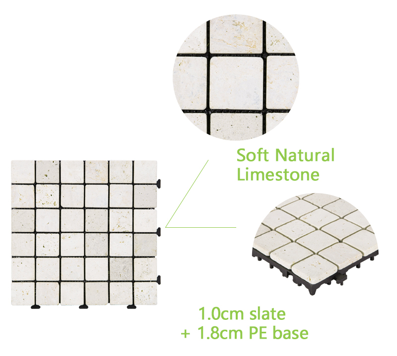 JIABANG hot-sale travertine floor tile high-quality for garden decoration-4