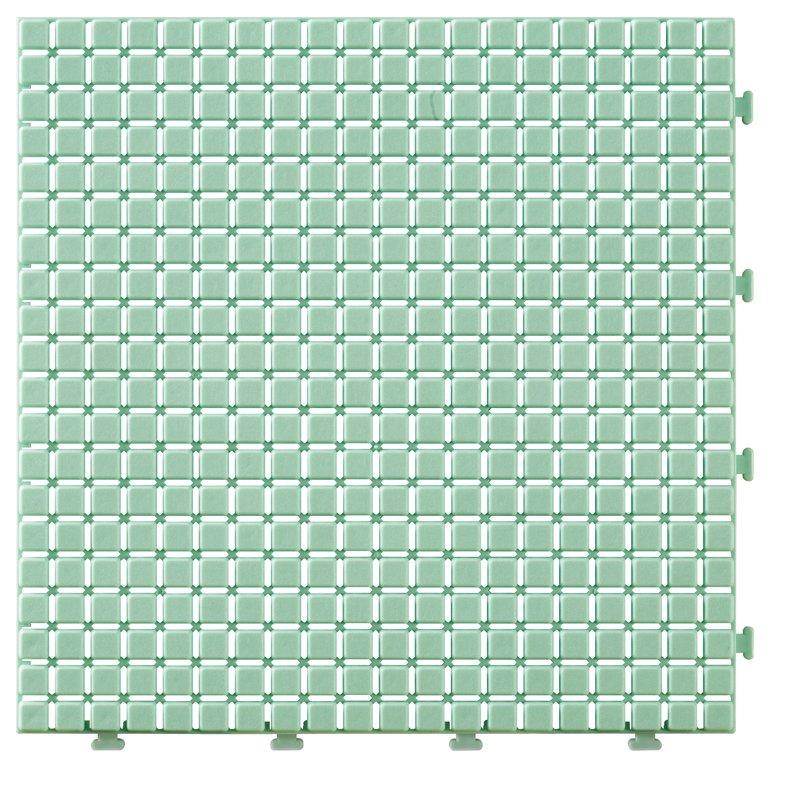 JIABANG Non slip bathroom flooring plastic mat JBPL3030N green Plastic Mat image18