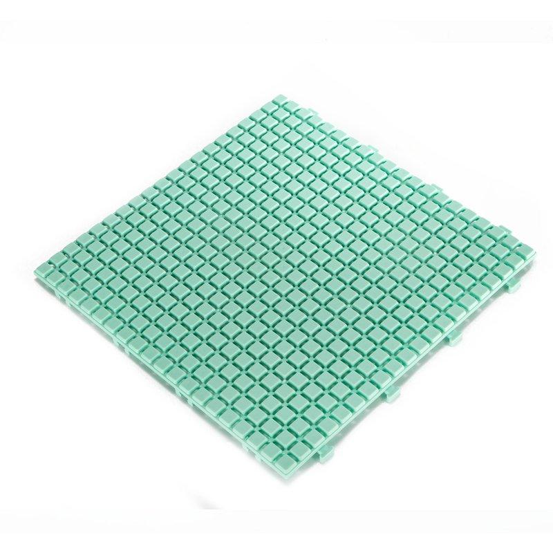 JIABANG Non slip bathroom flooring plastic mat JBPL3030N LT green Plastic Mat image17