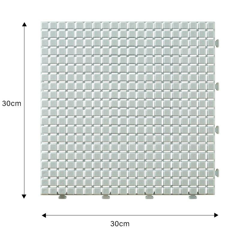 plastic floor tiles outdoor floor JIABANG Brand non slip bathroom tiles