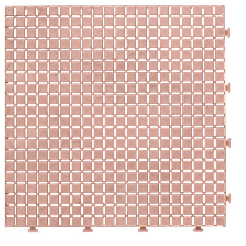 JIABANG Non slip bathroom flooring plastic mat JBPL3030N pink Plastic Mat image14