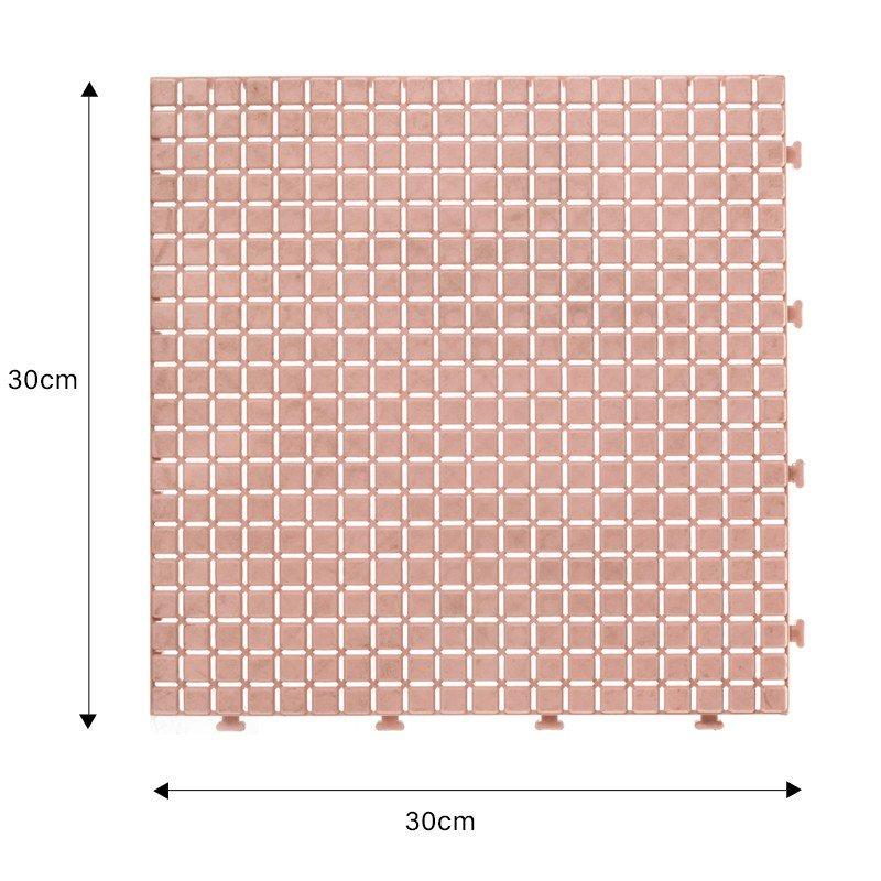 JIABANG bathroom floor wood plastic composite tiles high-quality for wholesale-1