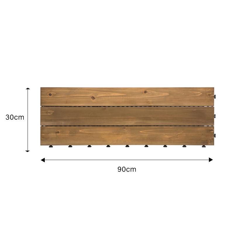 interlocking wood tile flooring