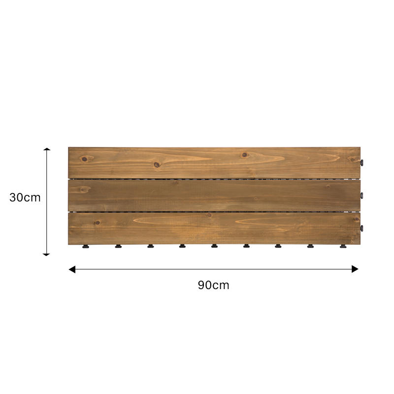 JIABANG refinishing hardwood deck tiles wood deck for balcony