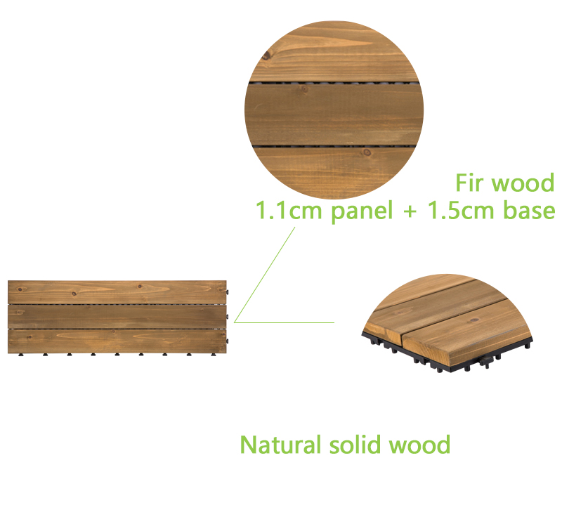 JIABANG refinishing hardwood deck tiles wood deck for balcony-4