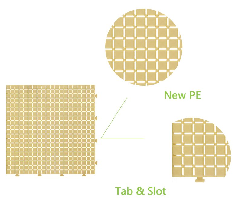 plastic tile