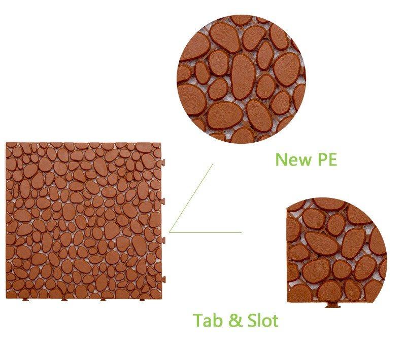 plastic floor tile
