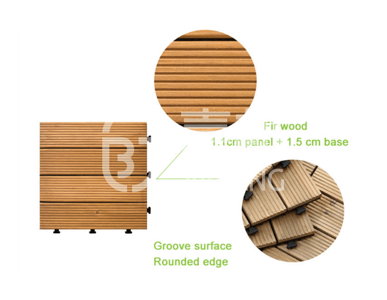 refinishing hardwood deck tiles natural wood deck for garden-4