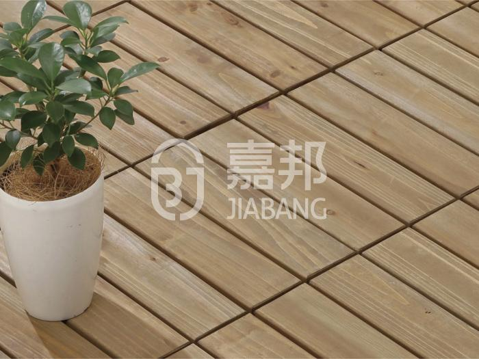adjustable interlocking wood deck tiles natural flooring wooden floor-6