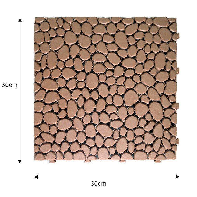 JIABANG plastic mat outdoor plastic tiles non-slip for customization-2