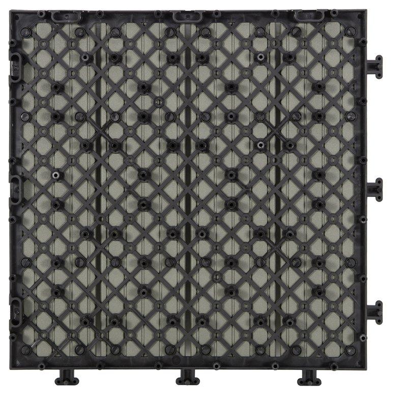 JIABANG Outdoor metal aluminum deck tiles AL4P3030 grey Aluminum Deck Tiles image5