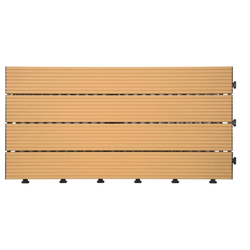 JIABANG Outdoor metal aluminum deck tiles AL4P3060 brown Aluminum Deck Tiles image4