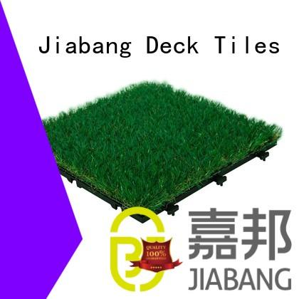 JIABANG top-selling artificial grass tiles on-sale garden decoration