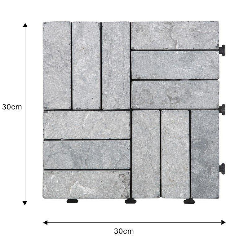 diy silver travertine tile high-quality from travertine stone