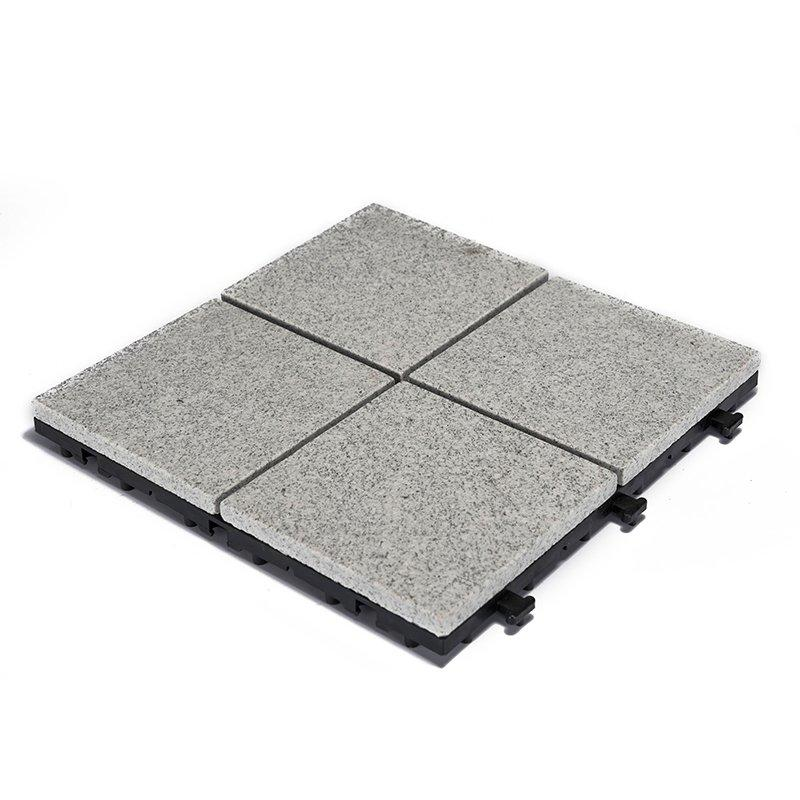 Outdoor interlocking granite tiles for patio JBG2334