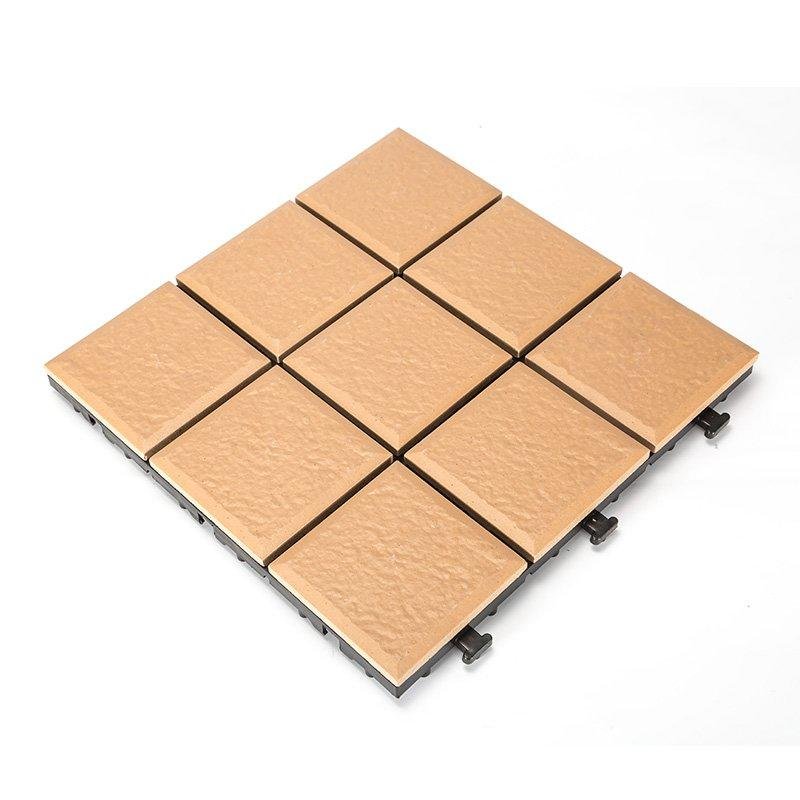 Interlocking Tiles Porcelain Garden