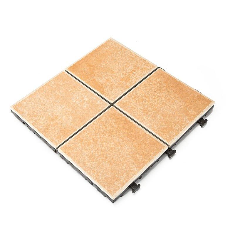 Anti slip frost ceramic pool deck tile N044
