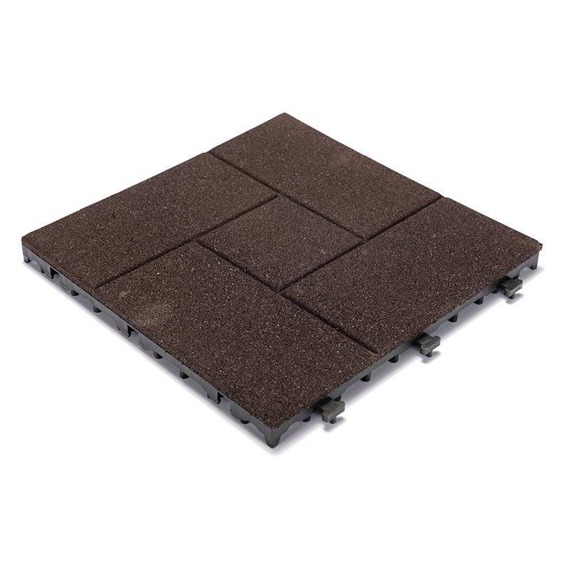 JIABANG 2018 soft rubber gym flooring deck tiles XJ-SBR-DBR002 SBR Rubber Deck Tile image125