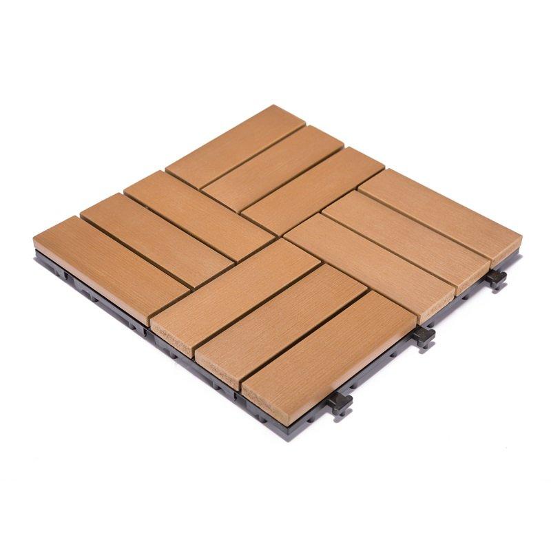JIABANG Woodland plastic deck tiles PS12P30312TKC Plastic Deck Tile image33