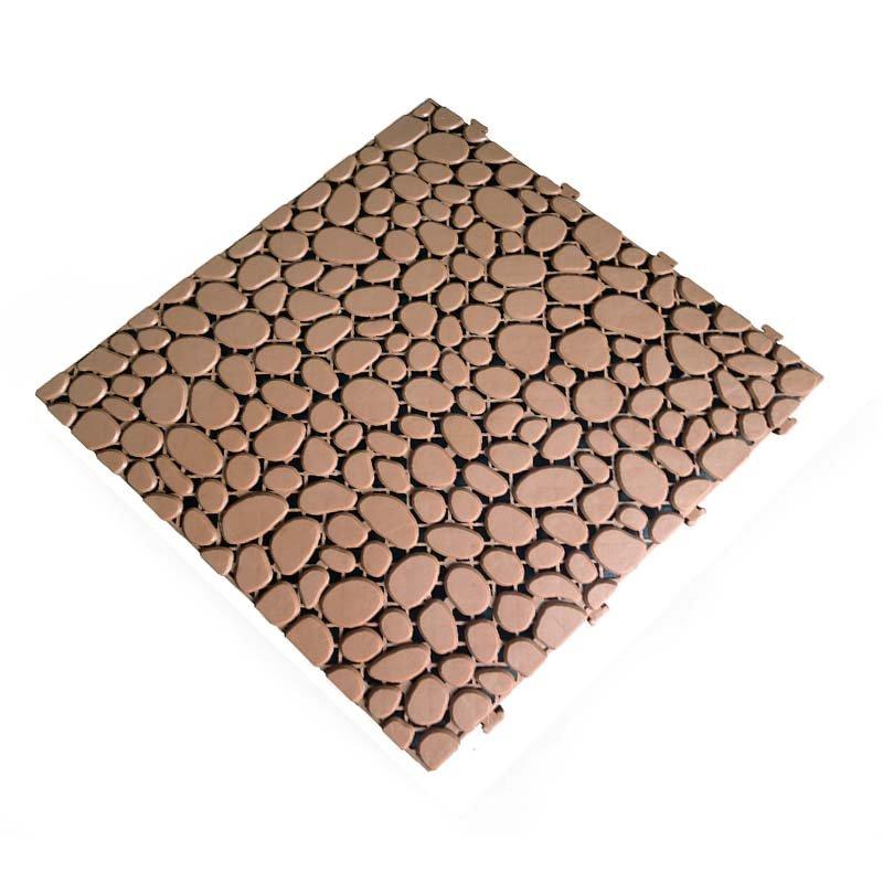 JIABANG Non slip bathroom flooring plastic mat JBPL303PB sand Plastic Mat image6