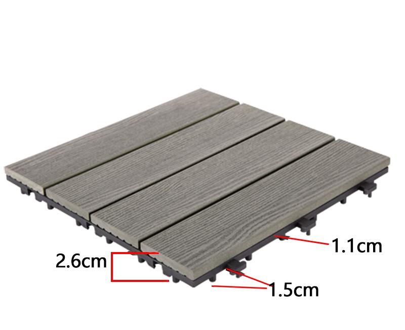 JIABANG outdoor composite interlocking tiles durable-3