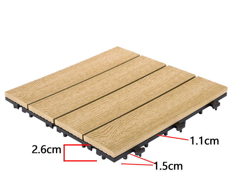 frost resistant composite deck tiles easy installation hot-sale best quality