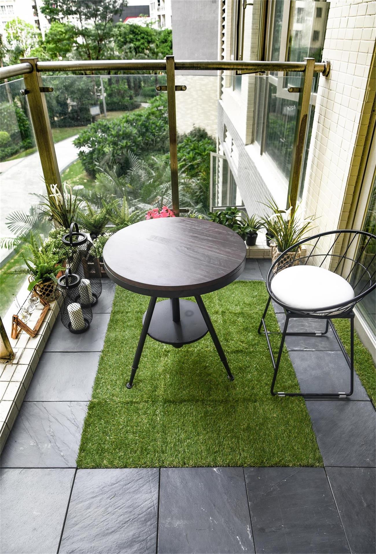 Renew your old balcony in 20 mins