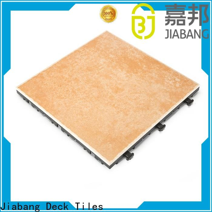 JIABANG durable outdoor floor suppliers hot-sale balcony decoration