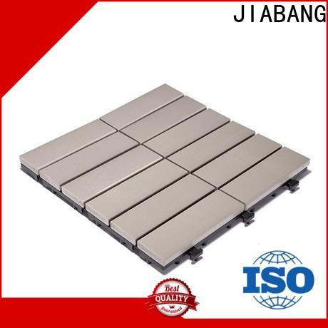JIABANG wholesale plastic patio flooring tile popular home decoration