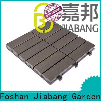 JIABANG wholesale plastic decking tiles popular gazebo decoration
