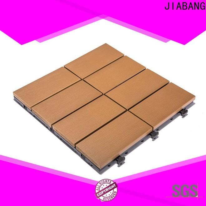 JIABANG wholesale plastic interlocking deck tiles high-quality gazebo decoration