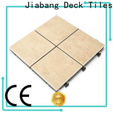 JIABANG non slip decking tiles top quality building material