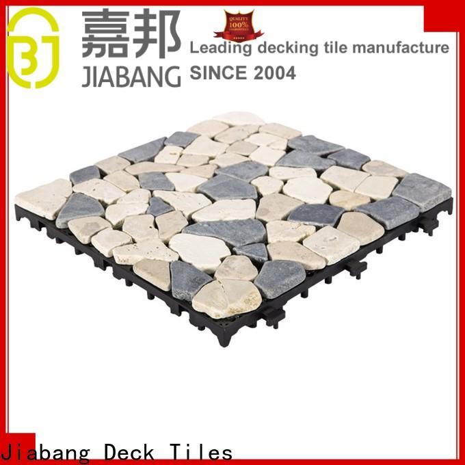 JIABANG limestone tumbled travertine floor tiles high-quality for garden decoration