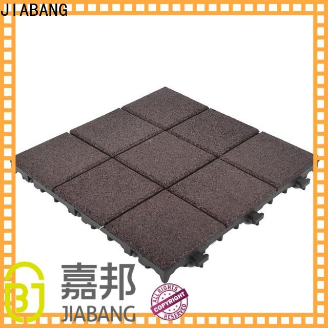 JIABANG playground rubber gym mat tiles light weight for wholesale