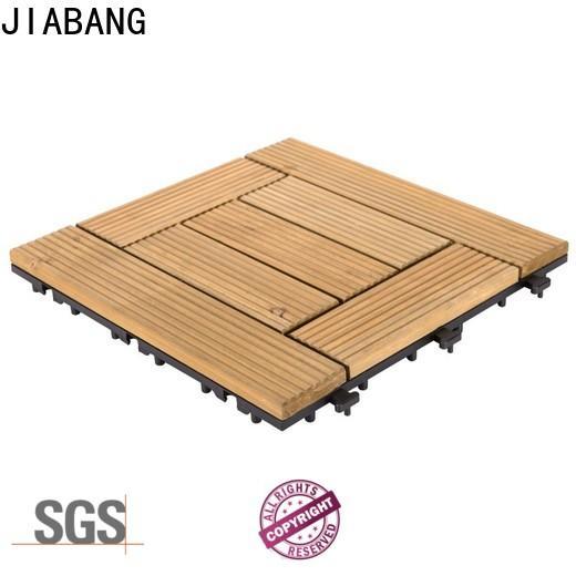 interlocking wooden interlocking deck tiles outdoor flooring for garden