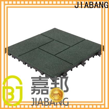 JIABANG playground interlocking rubber tiles for gym low-cost for wholesale
