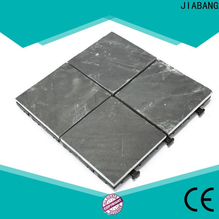 JIABANG diy real stones slate stone tile outdoor garden decoration floors building
