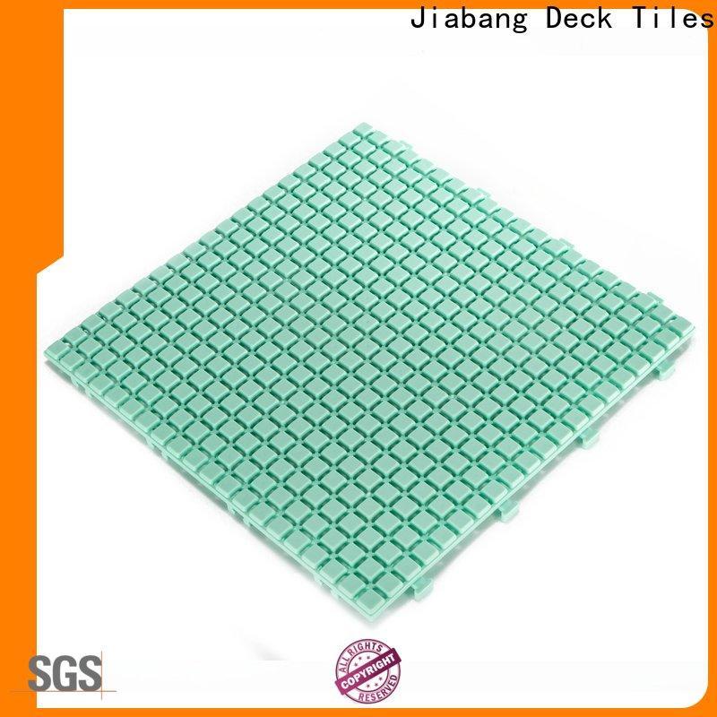 interlocking plastic garden tiles anti-sliding top-selling for wholesale