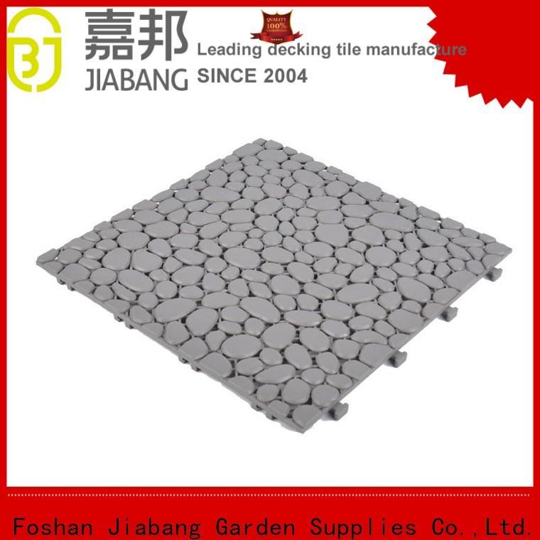 hot-sale plastic patio flooring tile plastic mat high-quality