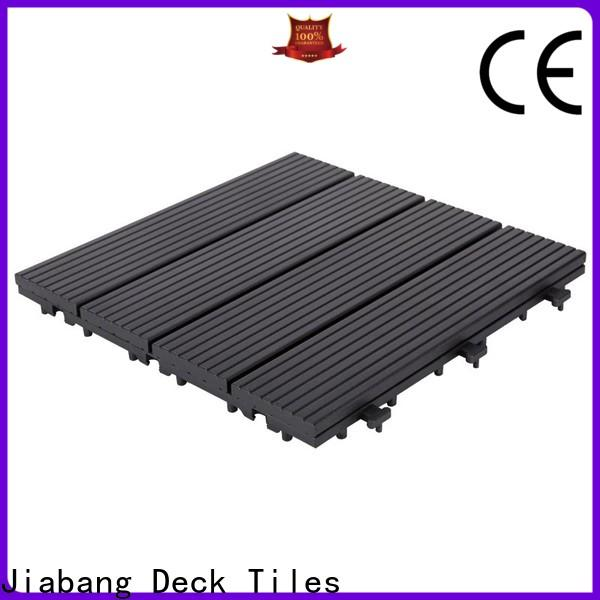 JIABANG aluminum interlocking deck and patio tiles light-weight for wholesale
