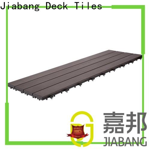 JIABANG interlocking deck and patio tiles light-weight for wholesale