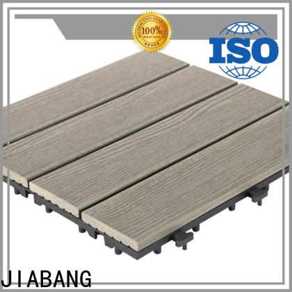 JIABANG outdoor composite interlocking tiles at discount top brand