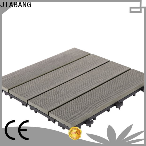 JIABANG outdoor composite interlocking tiles durable
