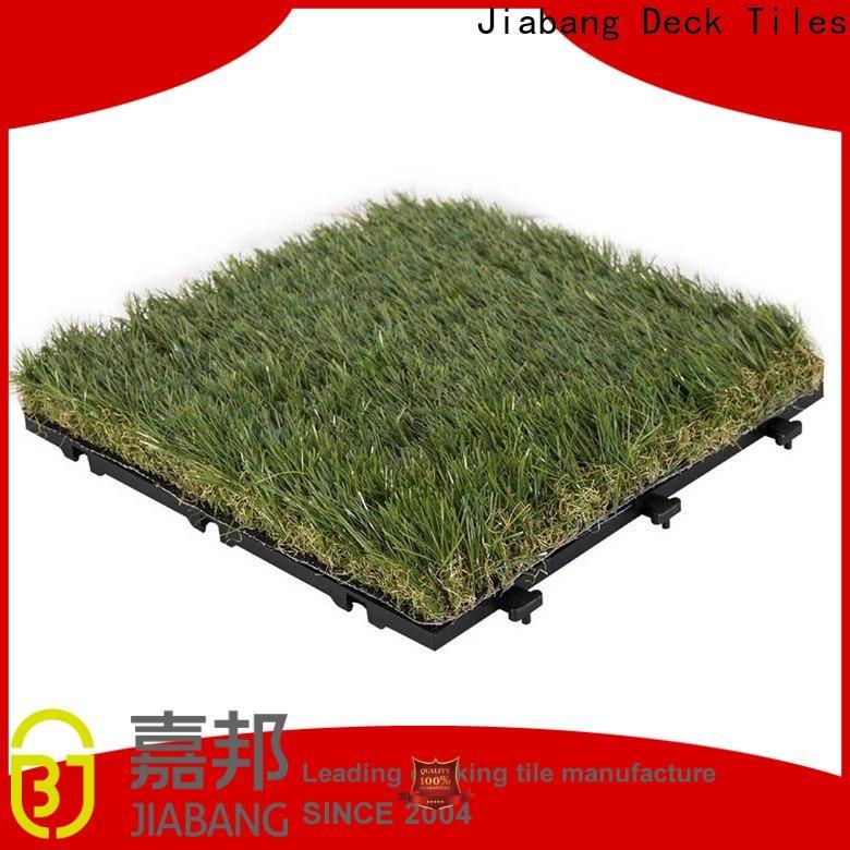 JIABANG chic design deck tiles on grass easy installation for garden