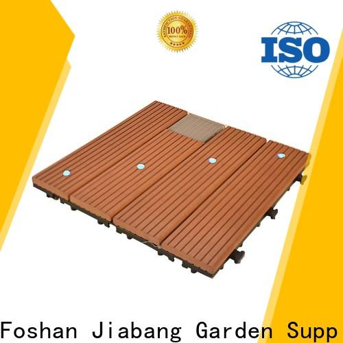 hot-sale square decking tiles eco-friendly home